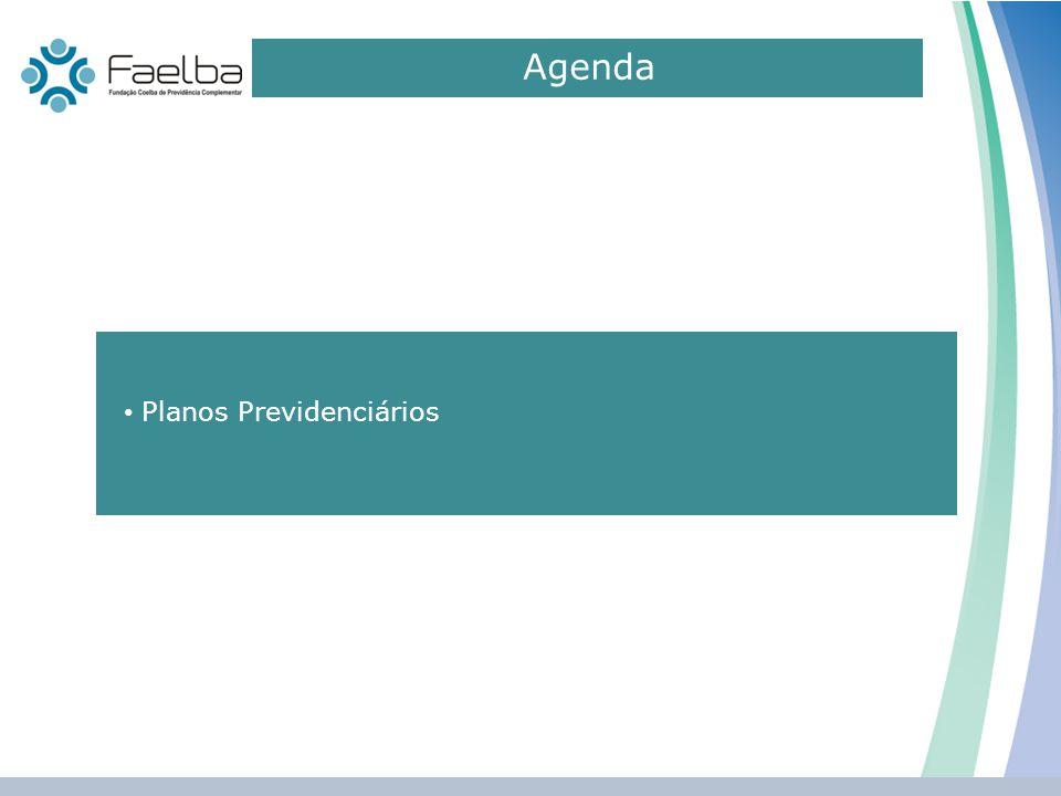 Agenda Planos Previdenciários