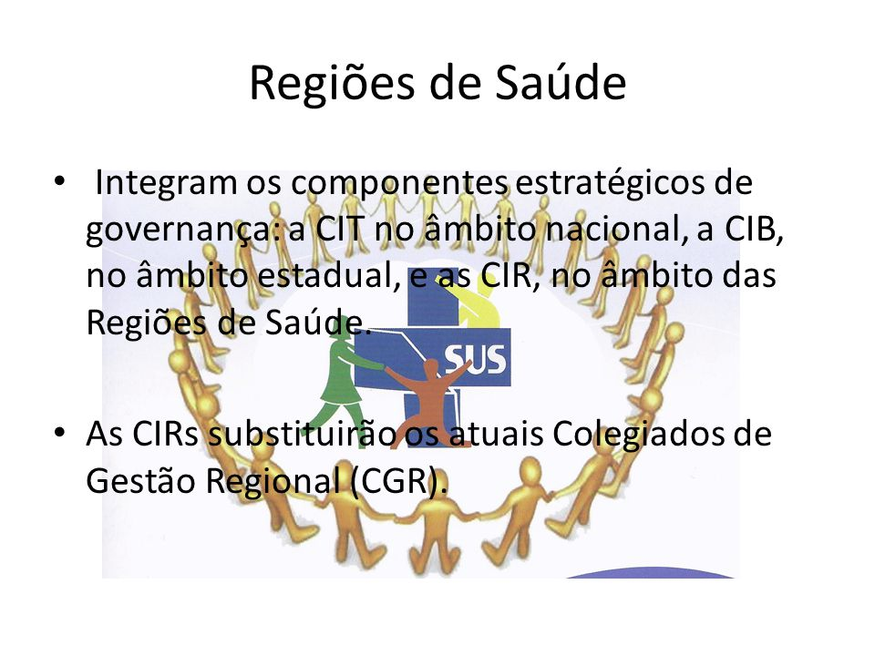 Regiões de Saúde
