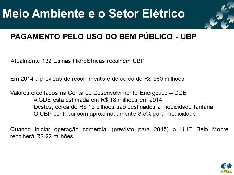 PAGAMENTO PELO USO DO BEM PÚBLICO - UBP
