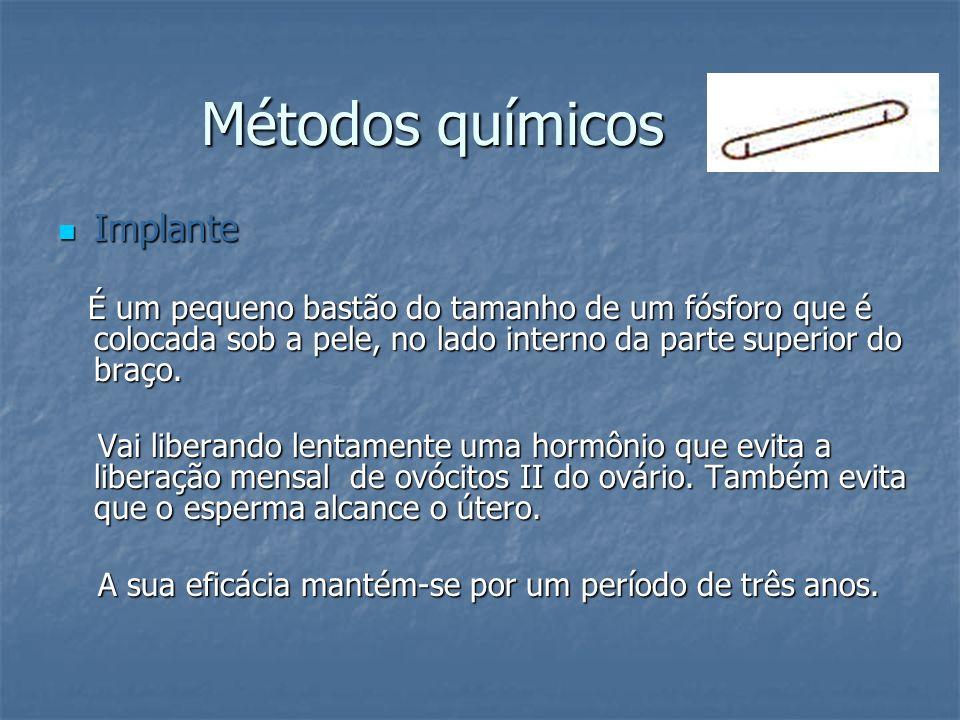 Métodos químicos Implante