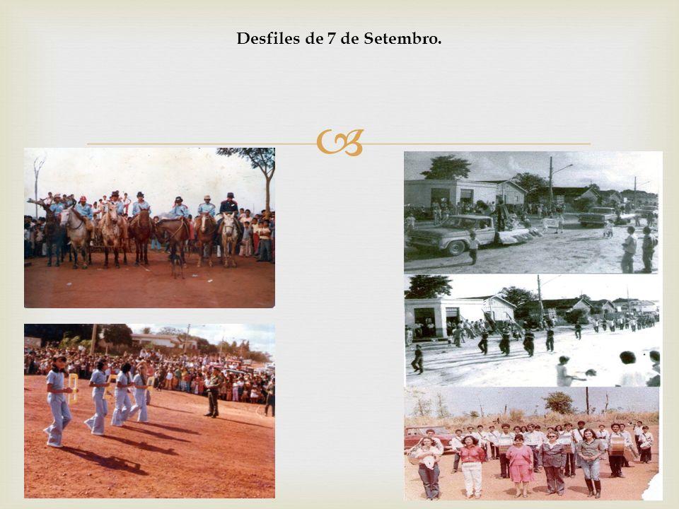 Desfiles de 7 de Setembro.