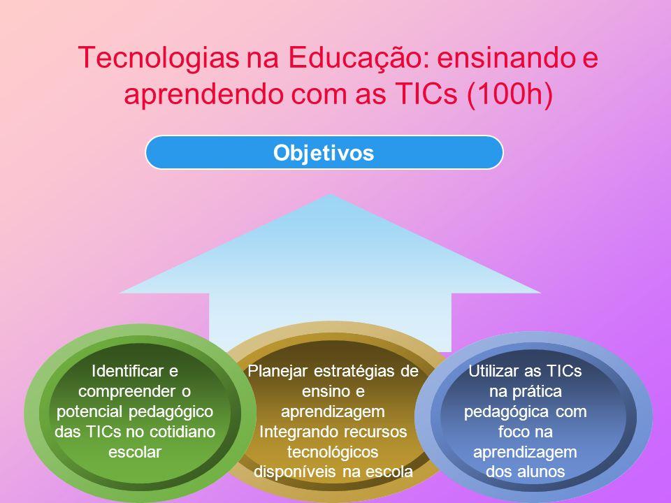 Tecnologias na Educação: ensinando e aprendendo com as TICs (100h)