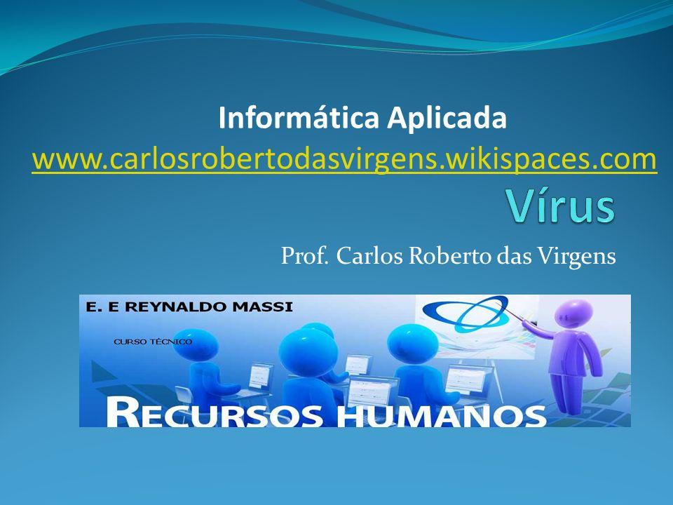 Prof. Carlos Roberto das Virgens