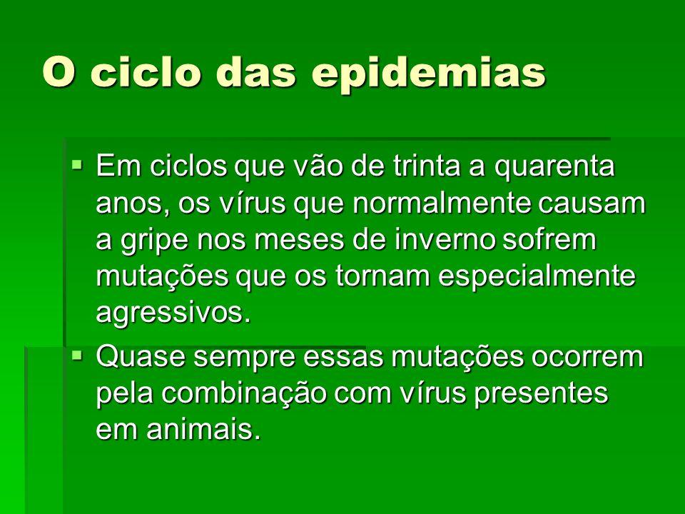 O ciclo das epidemias