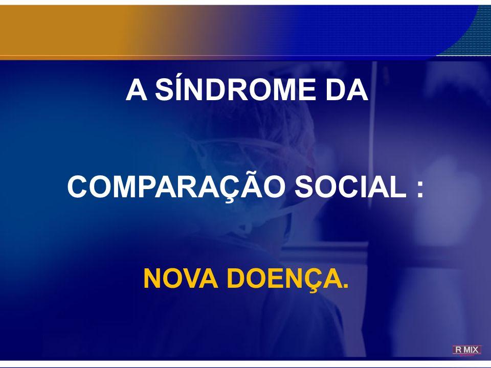 A SÍNDROME DA COMPARAÇÃO SOCIAL :