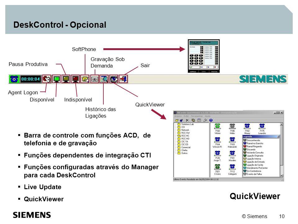 DeskControl - Opcional