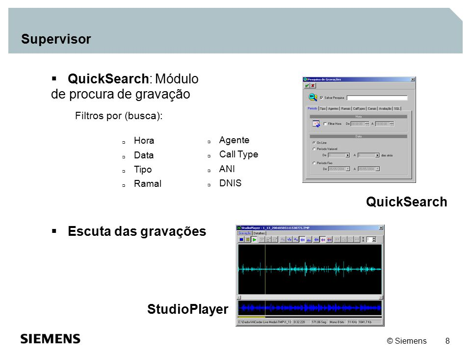 QuickSearch StudioPlayer