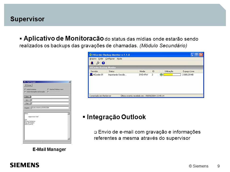Supervisor Integração Outlook