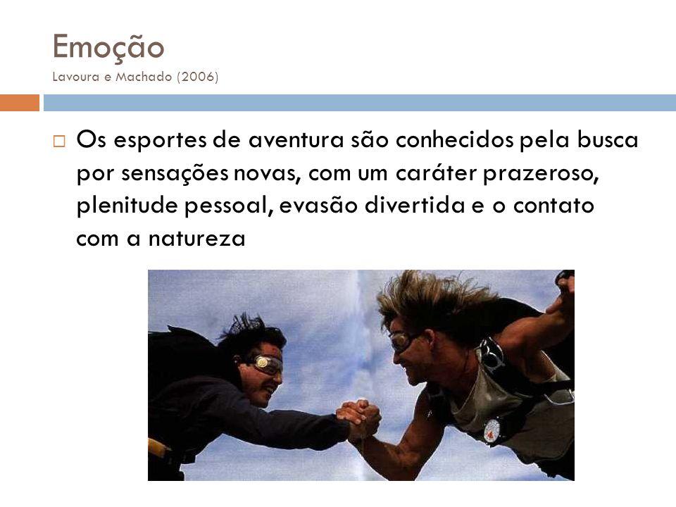 Emoção Lavoura e Machado (2006)