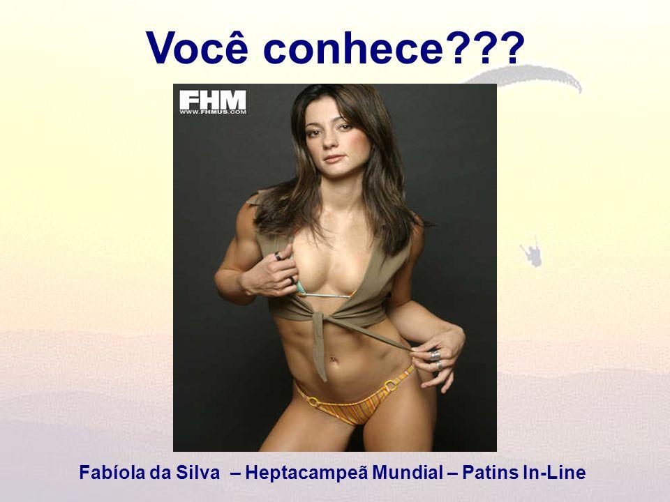Fabíola da Silva – Heptacampeã Mundial – Patins In-Line