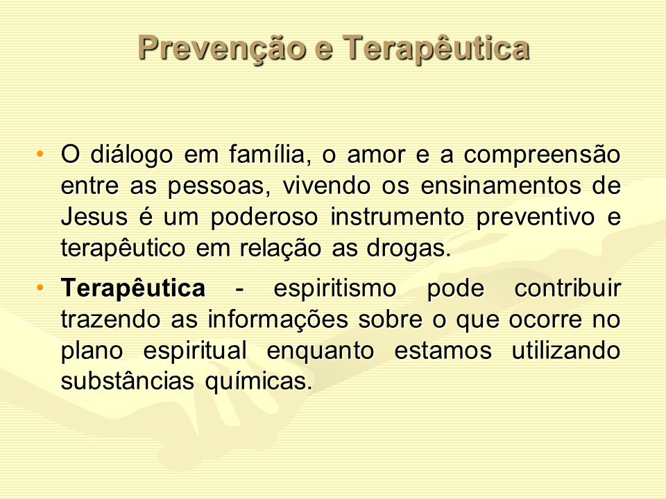 Prevenção e Terapêutica