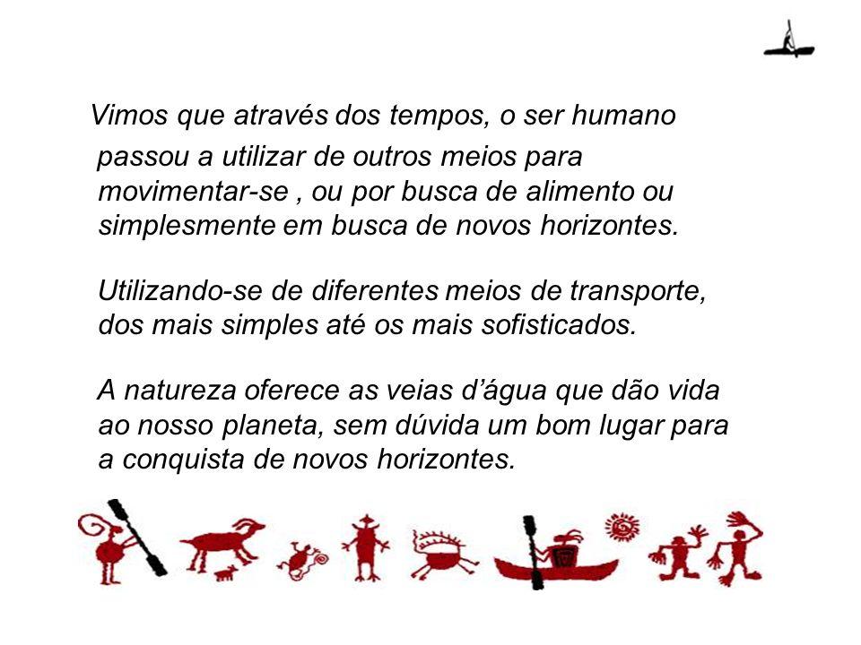 Vimos que através dos tempos, o ser humano