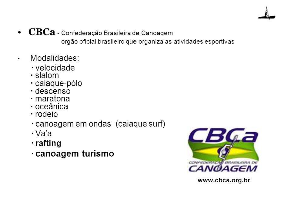 CBCa - Confederação Brasileira de Canoagem
