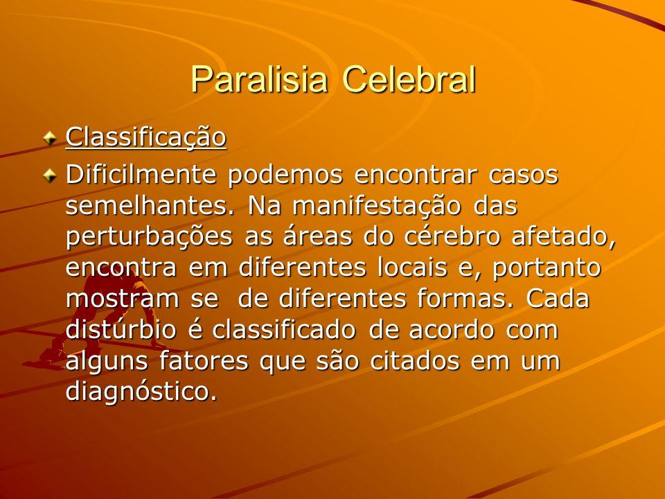 Paralisia Celebral Classificação