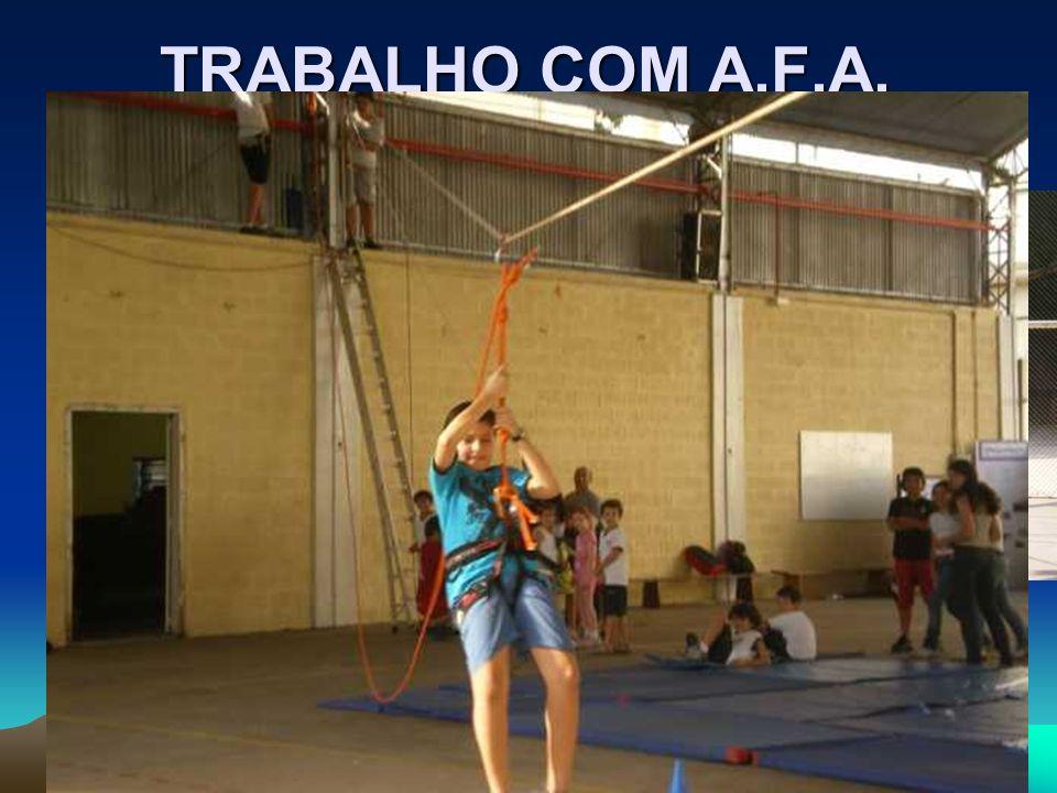 TRABALHO COM A.F.A.