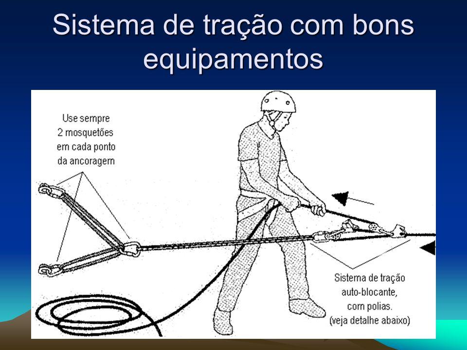 Sistema de tração com bons equipamentos