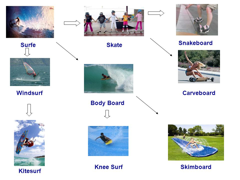 Snakeboard Surfe Skate Windsurf Carveboard Body Board Knee Surf Skimboard Kitesurf