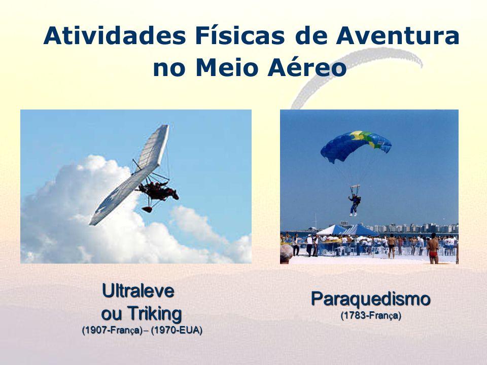 Atividades Físicas de Aventura no Meio Aéreo