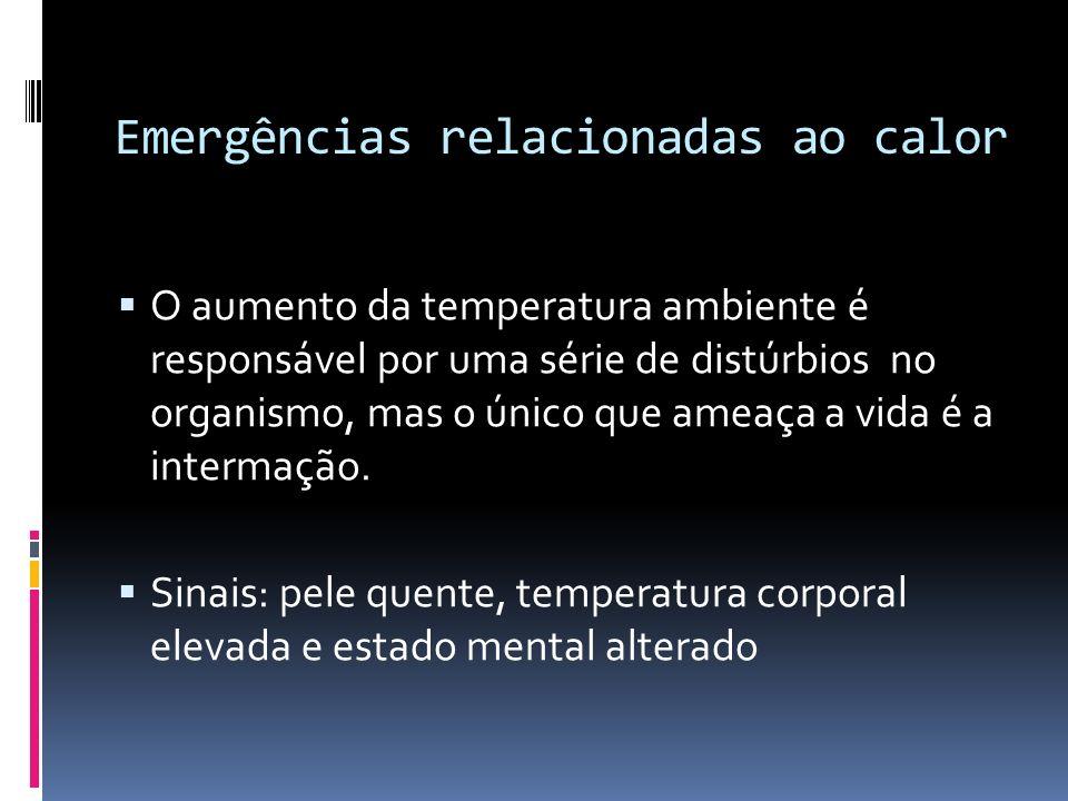 Emergências relacionadas ao calor