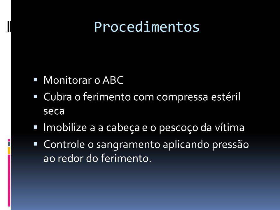 Procedimentos Monitorar o ABC