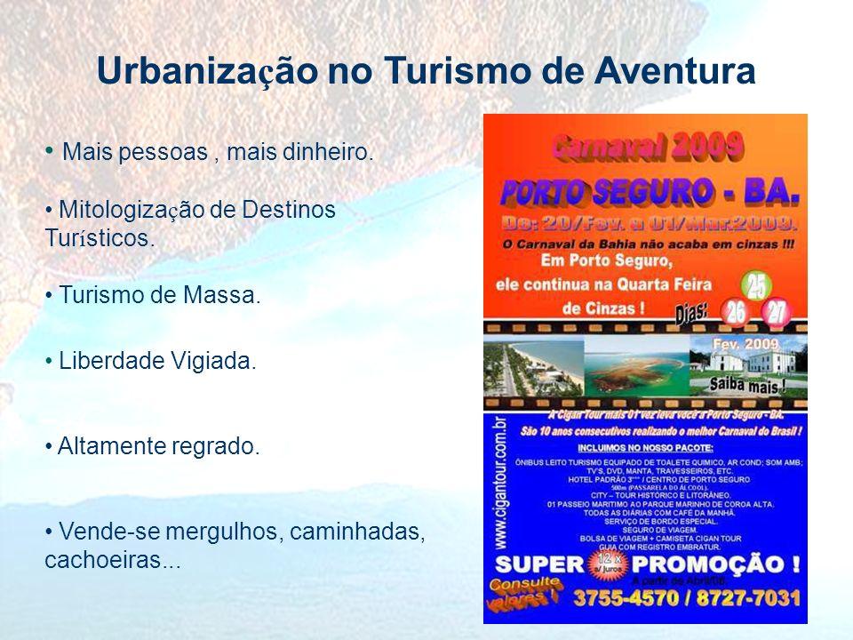 Urbanização no Turismo de Aventura