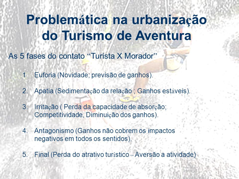 Problemática na urbanização
