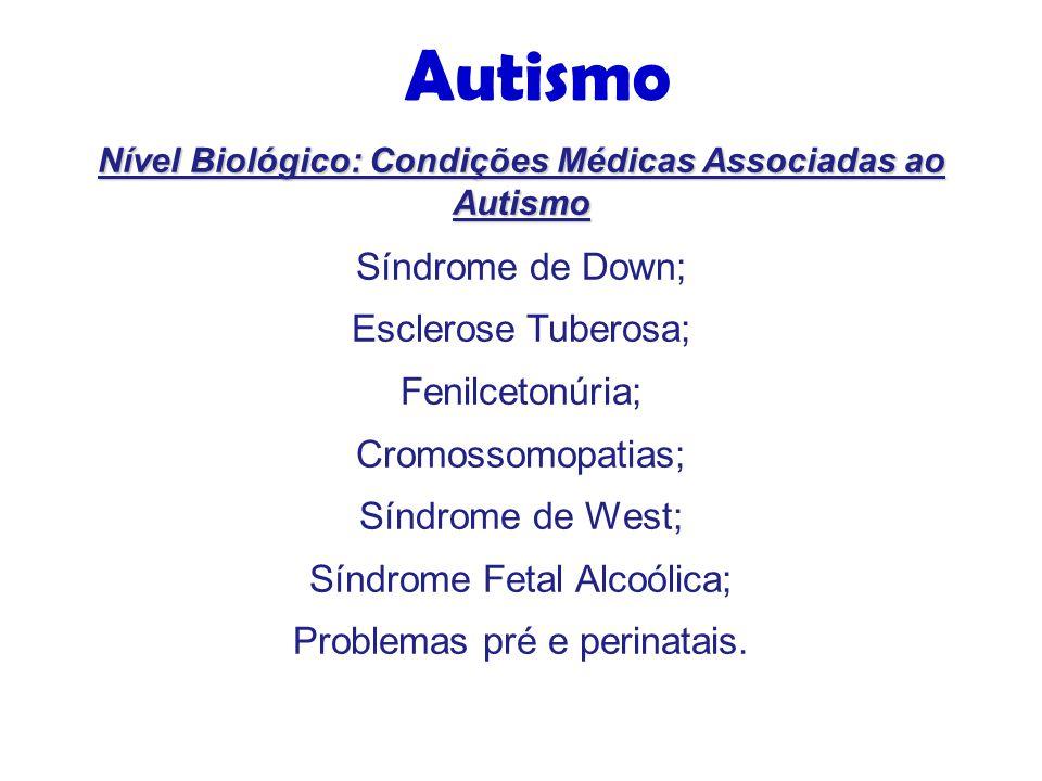 Nível Biológico: Condições Médicas Associadas ao Autismo