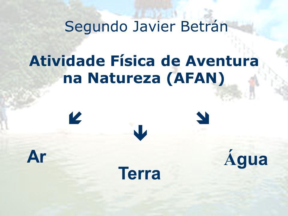Atividade Física de Aventura na Natureza (AFAN)