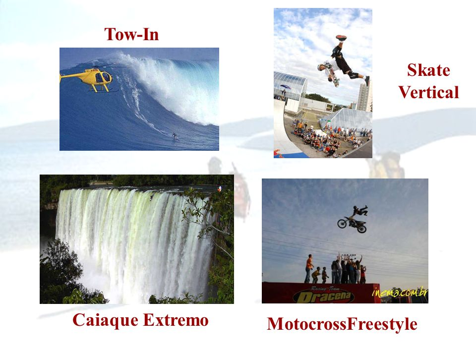 Tow-In Skate Vertical Caiaque Extremo MotocrossFreestyle