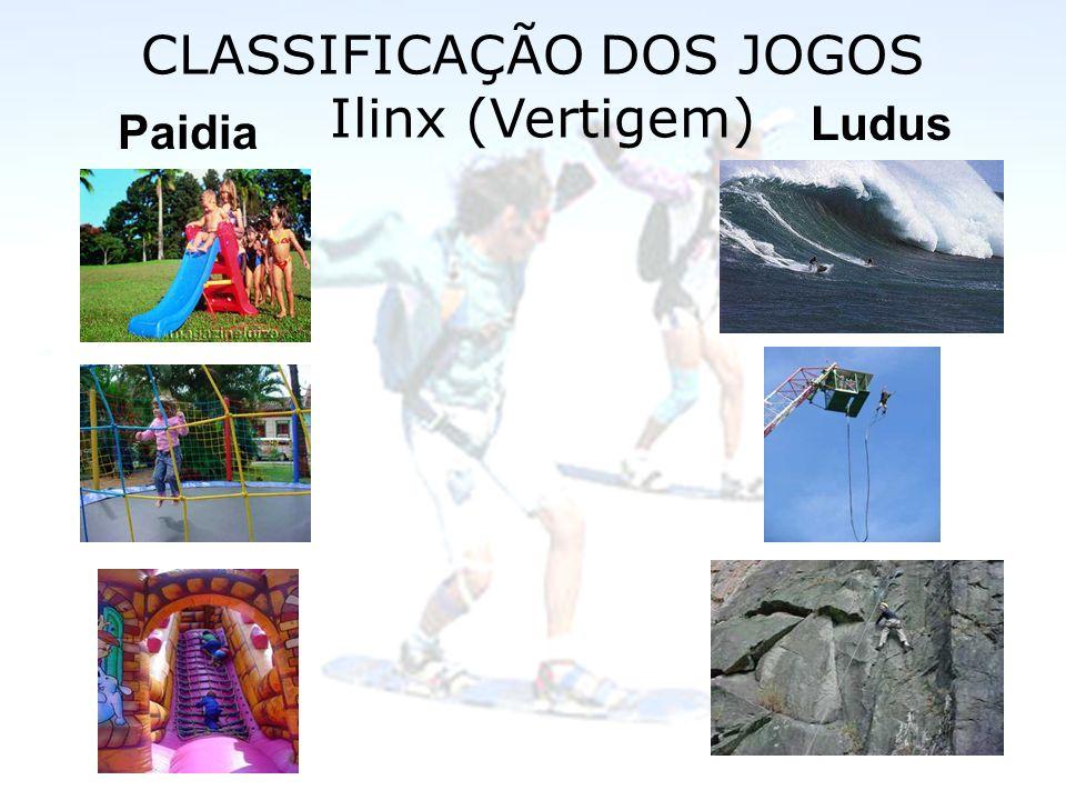 CLASSIFICAÇÃO DOS JOGOS Ilinx (Vertigem)