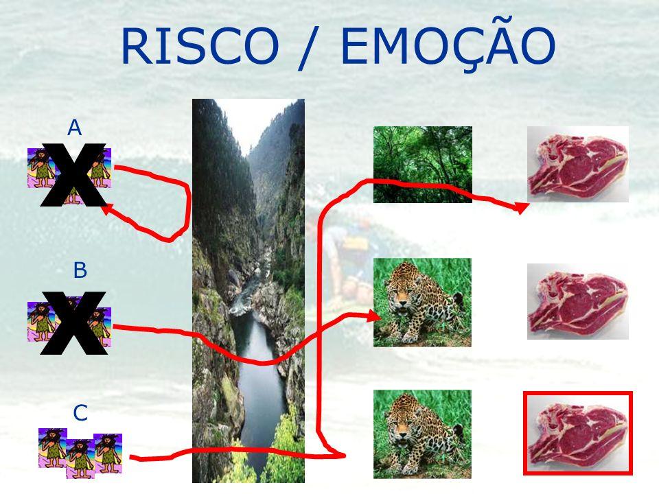 RISCO / EMOÇÃO A X B X C