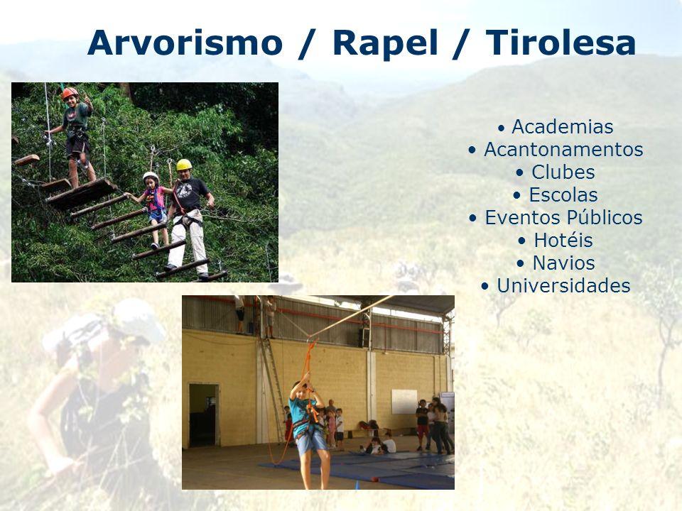 Arvorismo / Rapel / Tirolesa