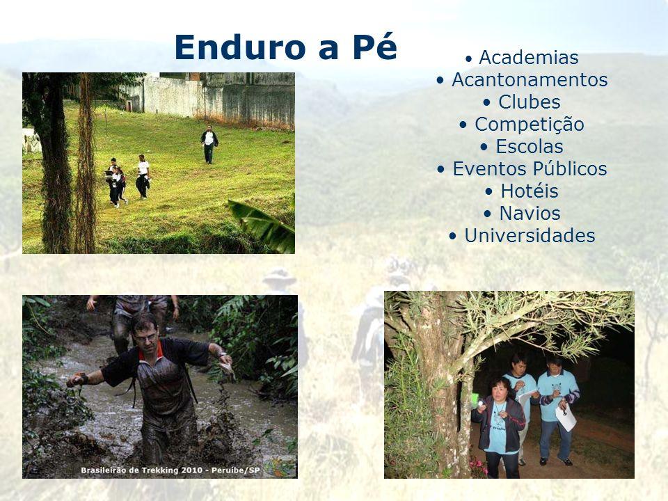 Enduro a Pé Acantonamentos Clubes Competição Escolas Eventos Públicos
