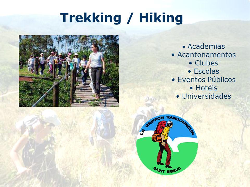 Trekking / Hiking Acantonamentos Clubes Escolas Eventos Públicos