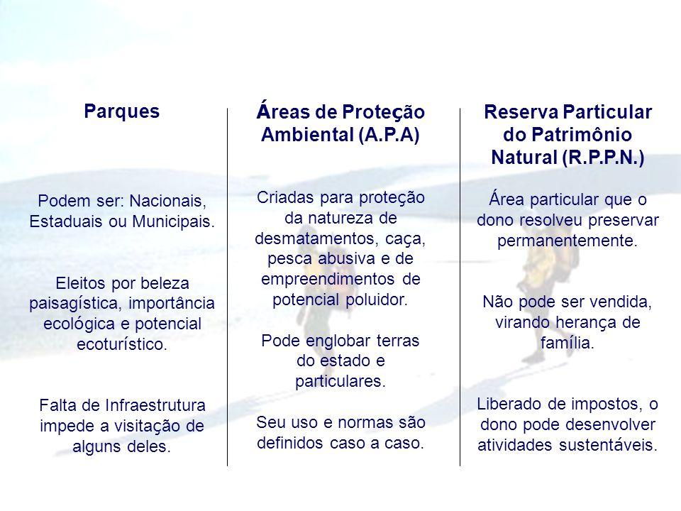 Áreas de Proteção Ambiental (A.P.A)