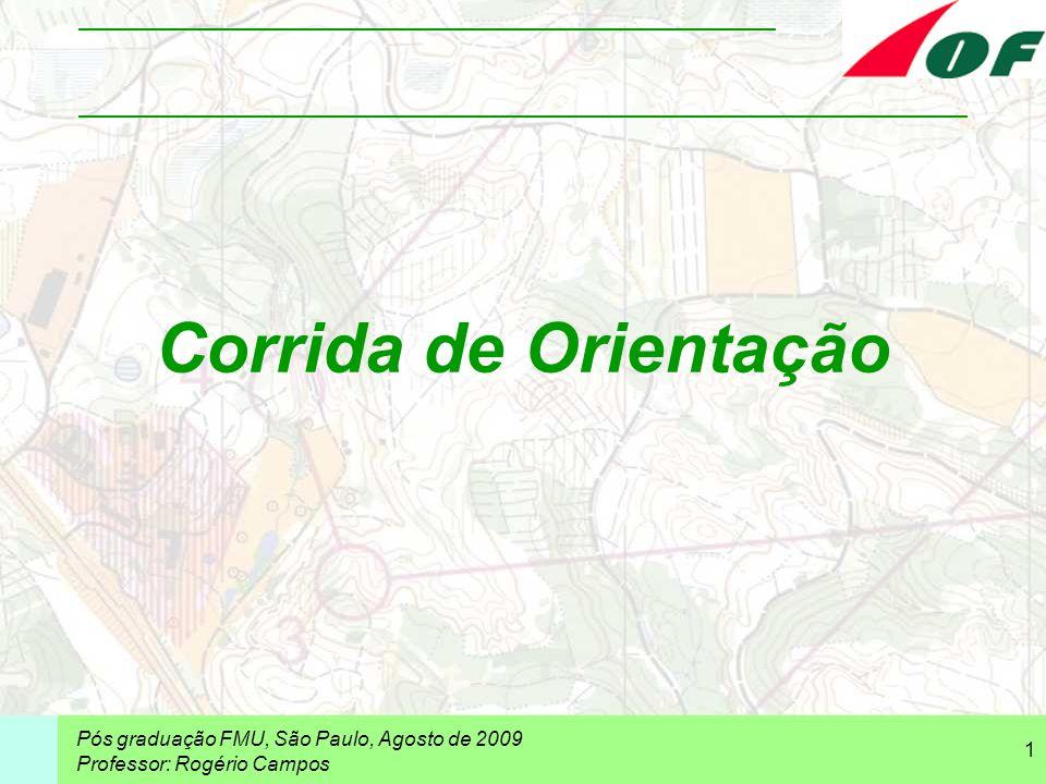 Corrida de Orientação Pós graduação FMU, São Paulo, Agosto de 2009