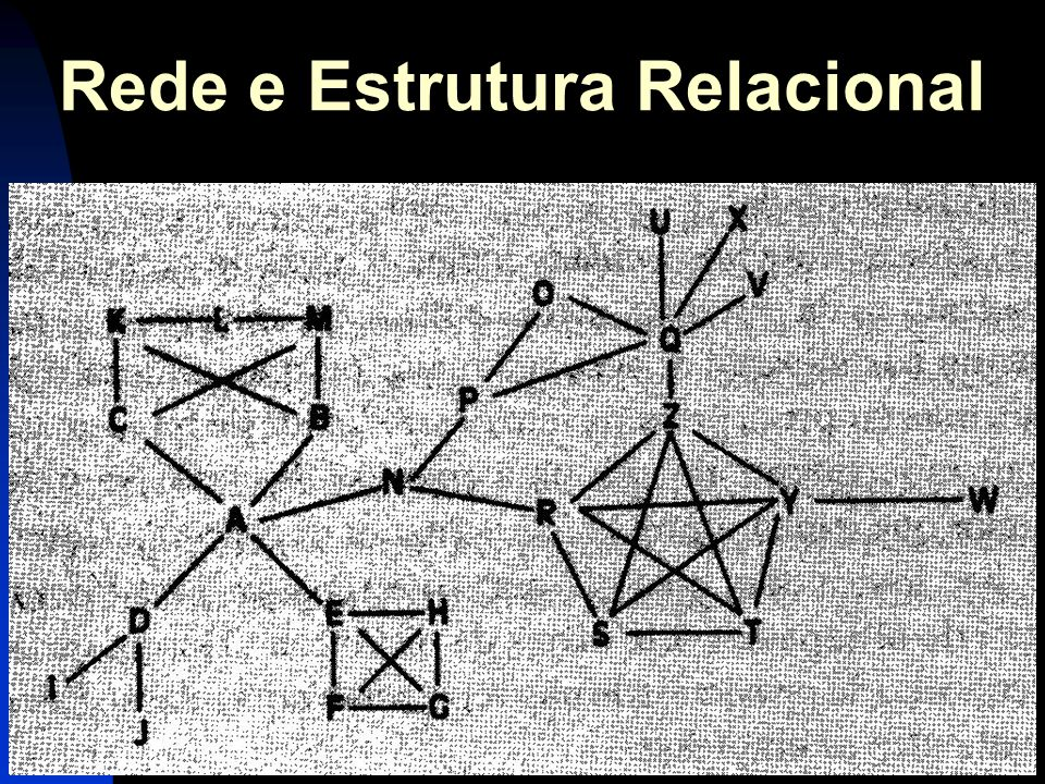 Rede e Estrutura Relacional