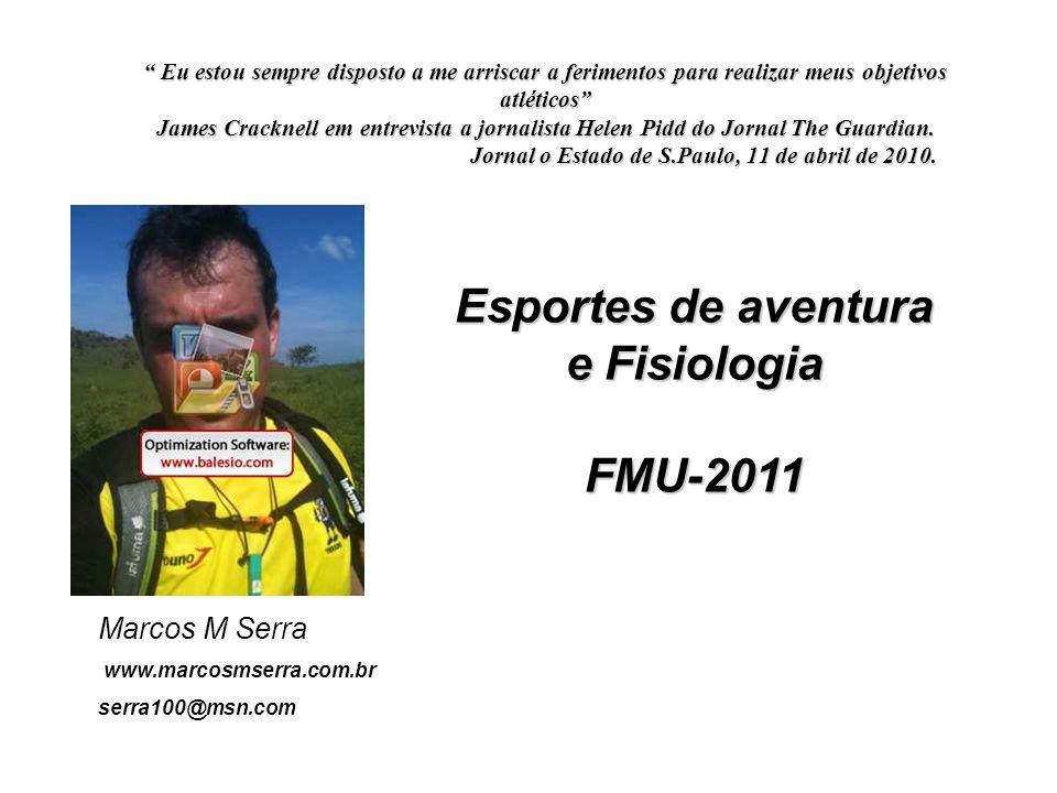 Esportes de aventura e Fisiologia