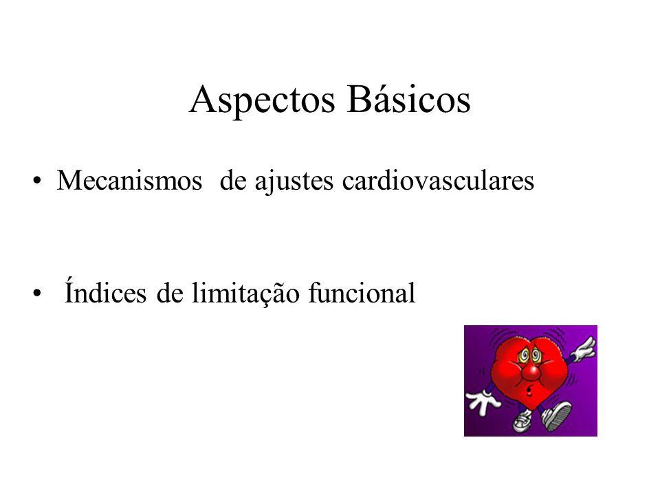 Aspectos Básicos Mecanismos de ajustes cardiovasculares