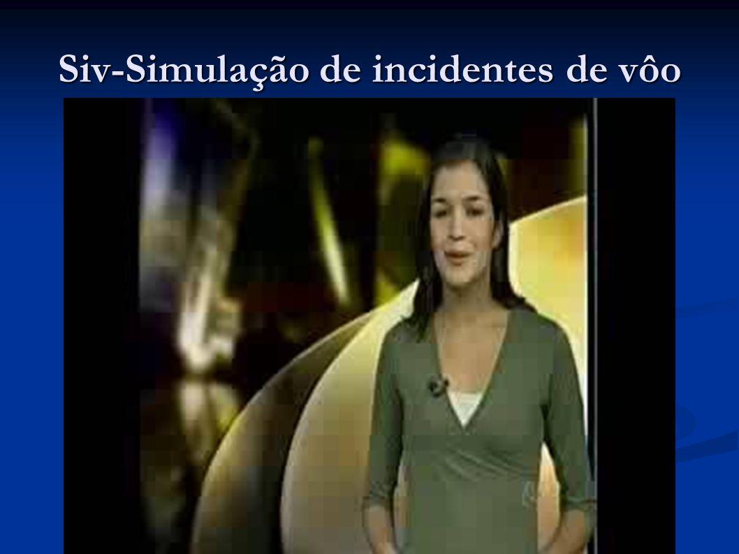 Siv-Simulação de incidentes de vôo