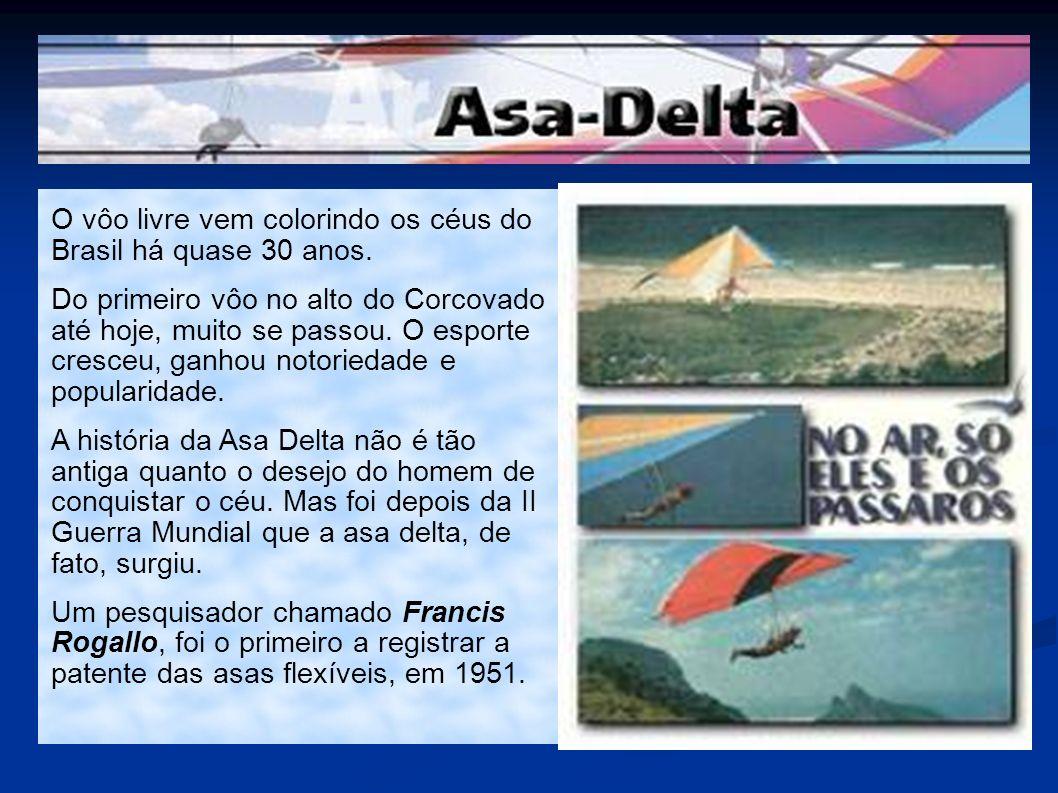 O vôo livre vem colorindo os céus do Brasil há quase 30 anos.