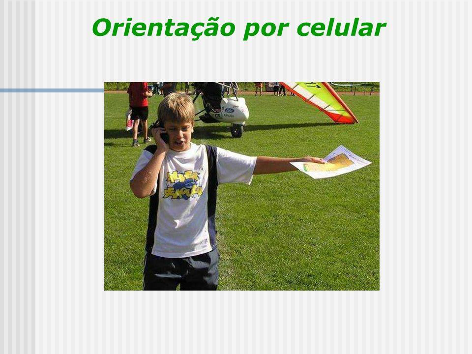 Orientação por celular