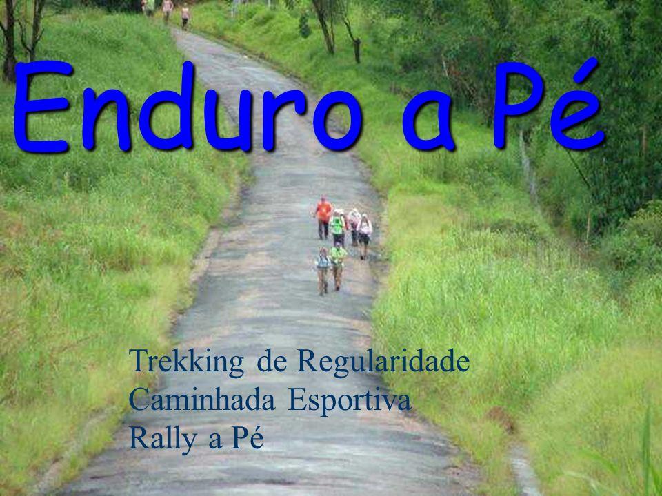 Enduro a Pé Trekking de Regularidade Caminhada Esportiva Rally a Pé