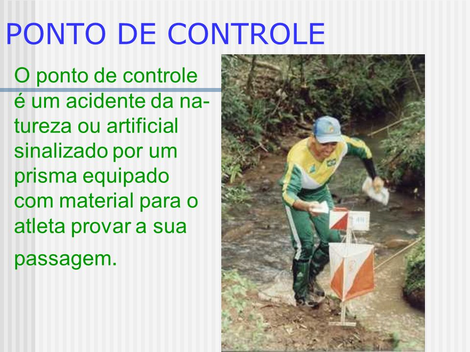 PONTO DE CONTROLE