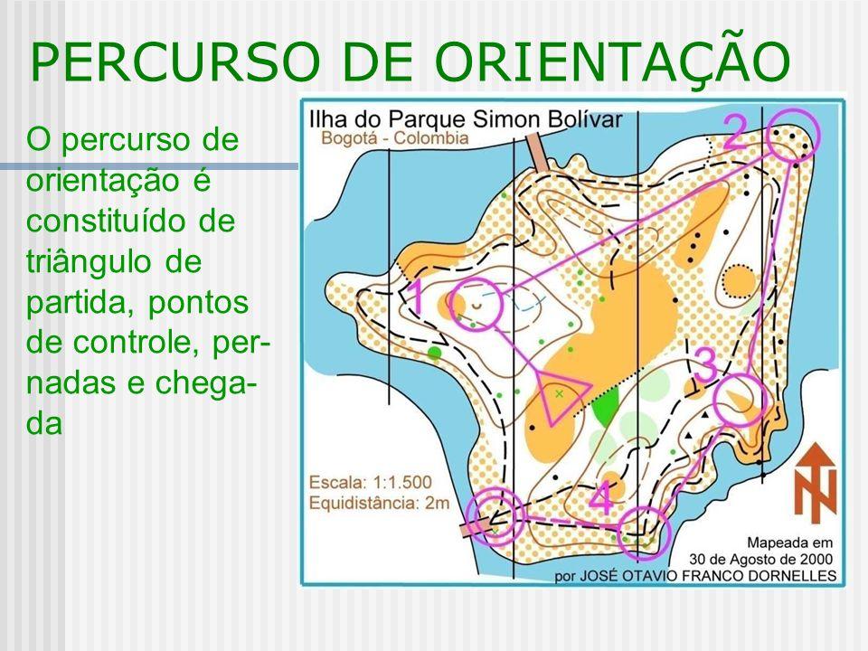 PERCURSO DE ORIENTAÇÃO