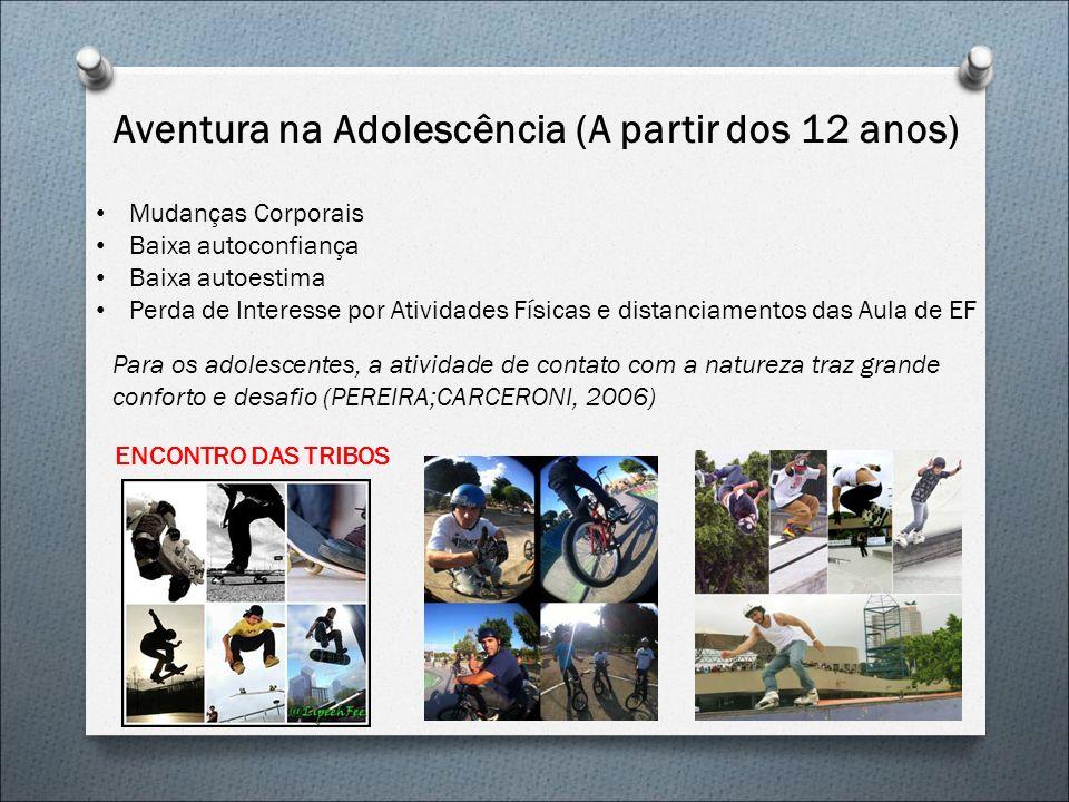 Aventura na Adolescência (A partir dos 12 anos)
