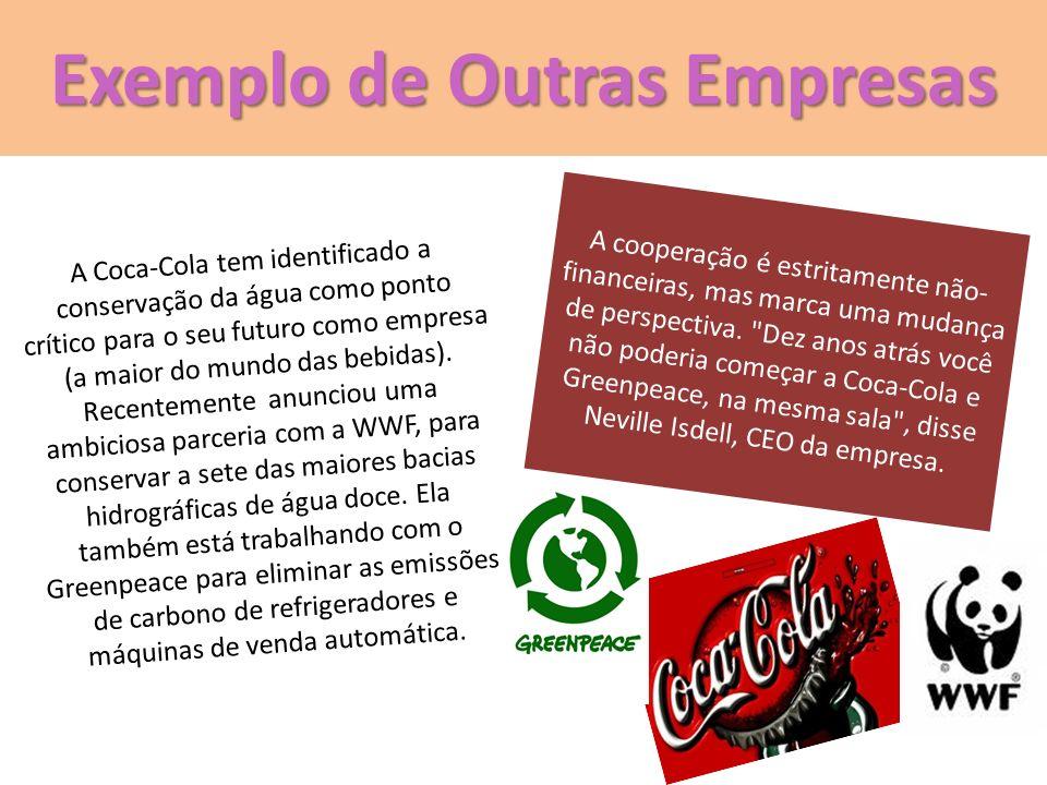 Exemplo de Outras Empresas