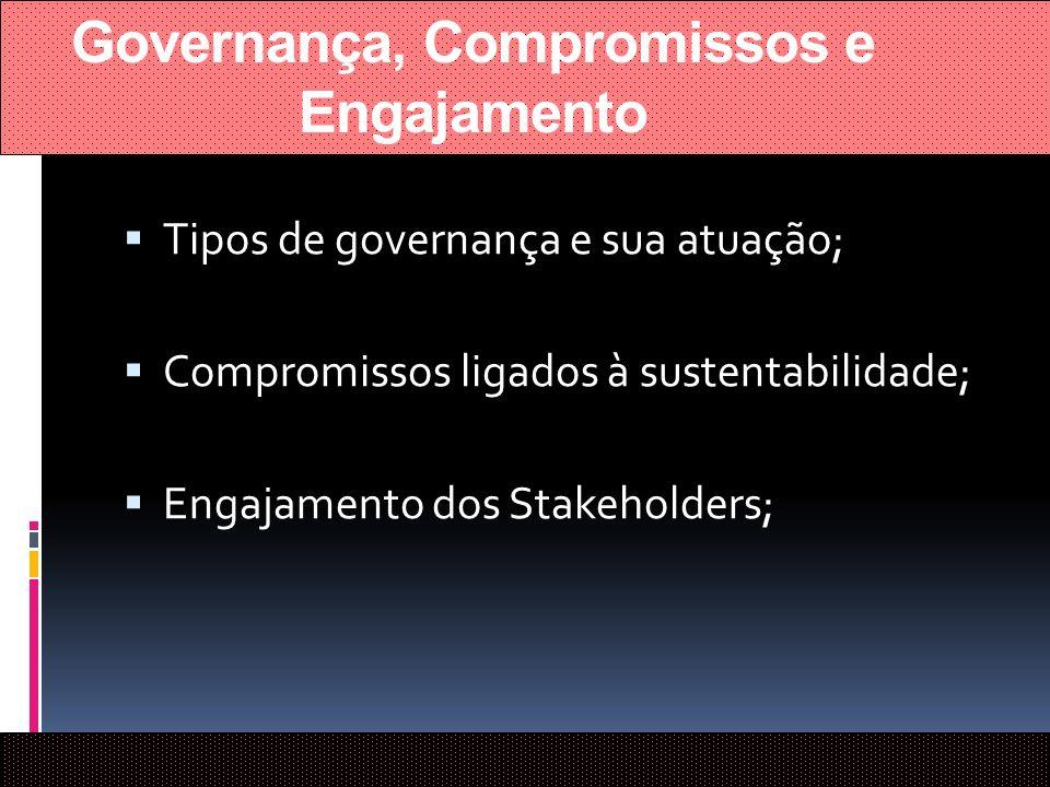 Governança, Compromissos e Engajamento
