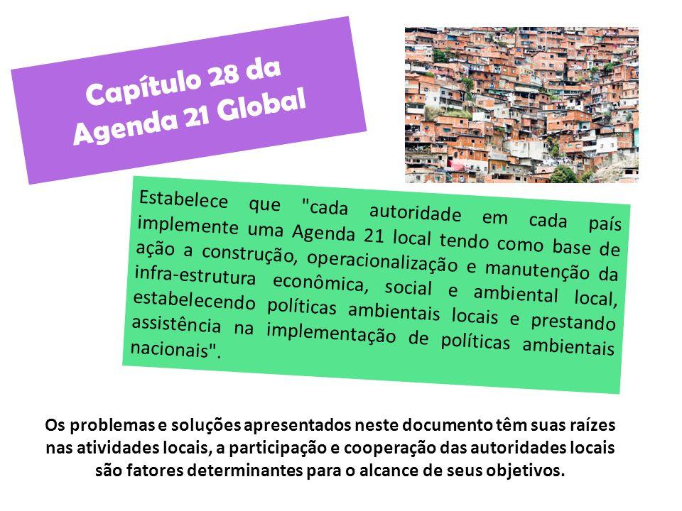 Capítulo 28 da Agenda 21 Global