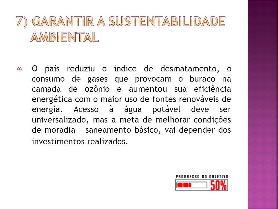7) Garantir a Sustentabilidade Ambiental